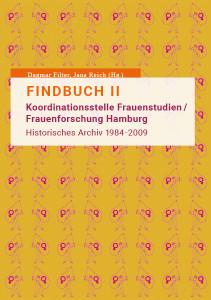 Cover Band 8: Findbuch II: Koordinationsstelle Frauenstudien/ Frauenforschung Hamburg.