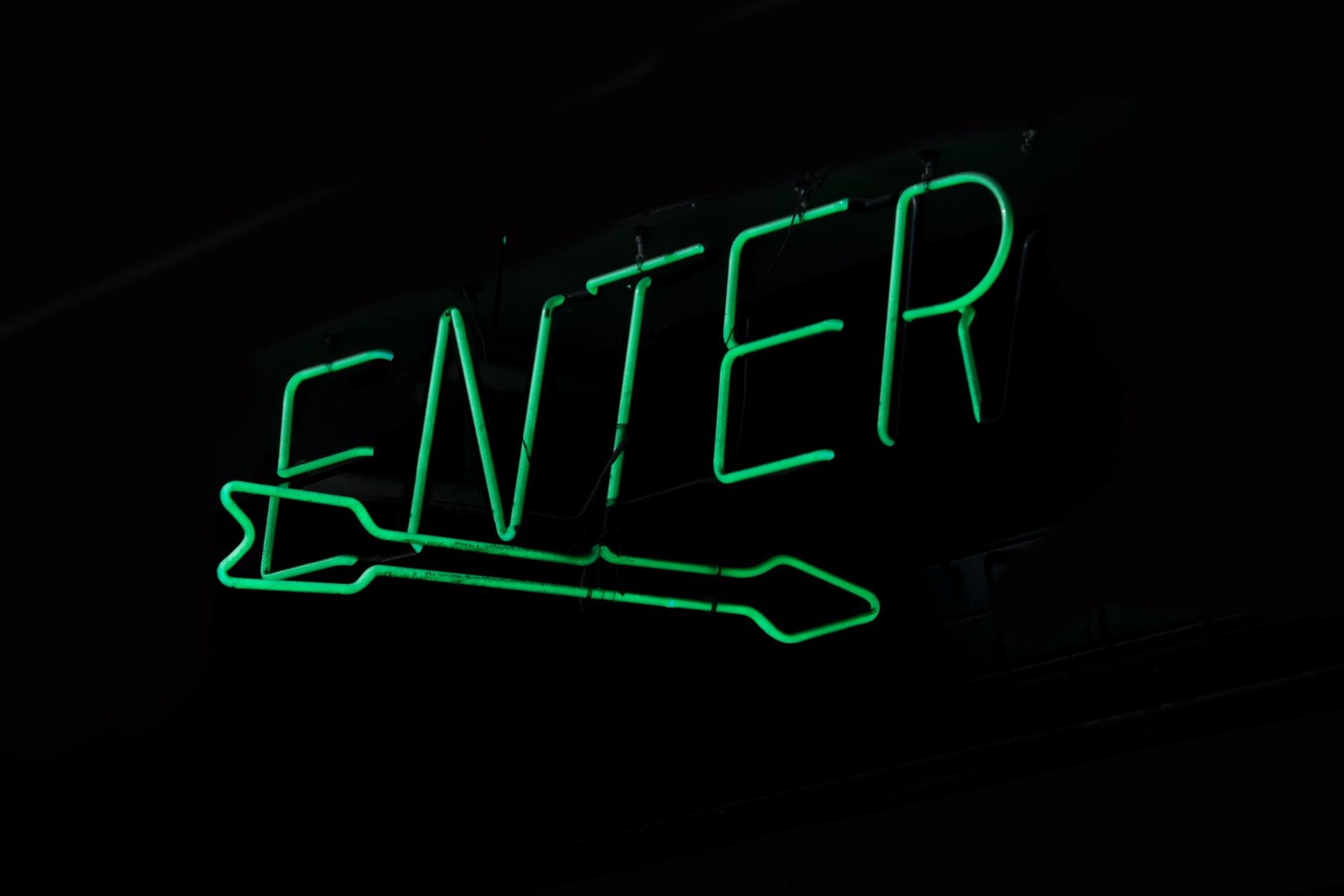 """Enter"" sign Photo by Jude Beck on Unsplash"